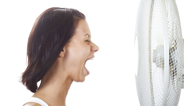 8 Ways to Beat Hot Flashes in the Summer Heat
